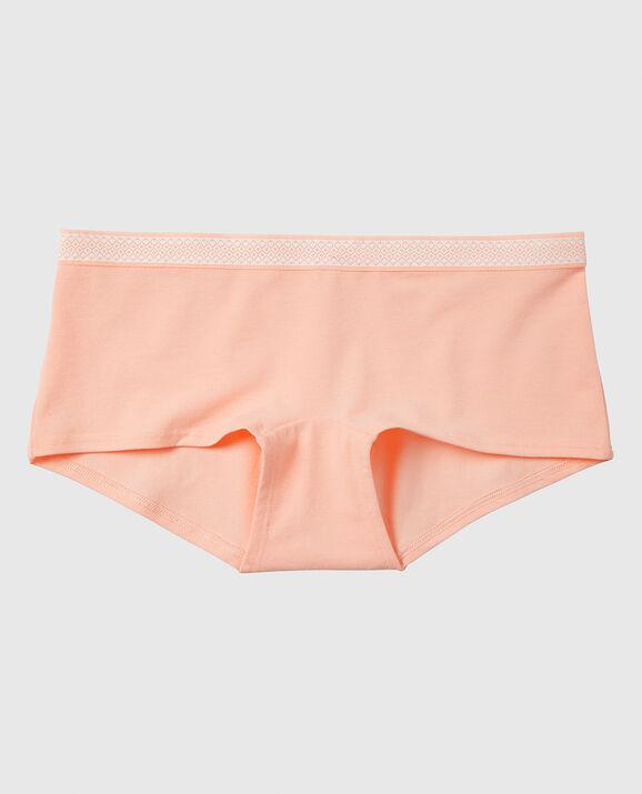 Boyshort Panty Peach Aura 1