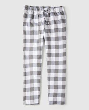 Flannel Pajama Pant Red Plaid 1