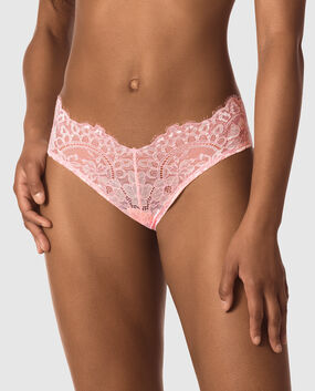 V Front Brazilian Panty Chili Red 1
