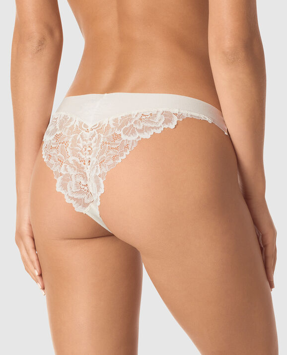 Cheeky Panty Coconut White 2