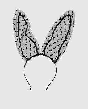 Lace Bunny Ears Headband