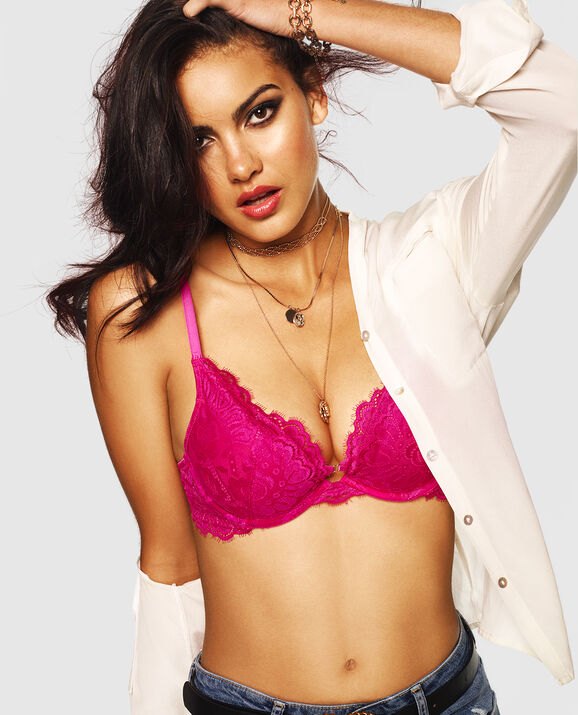 Push Up Bra Ultimate Pink 3