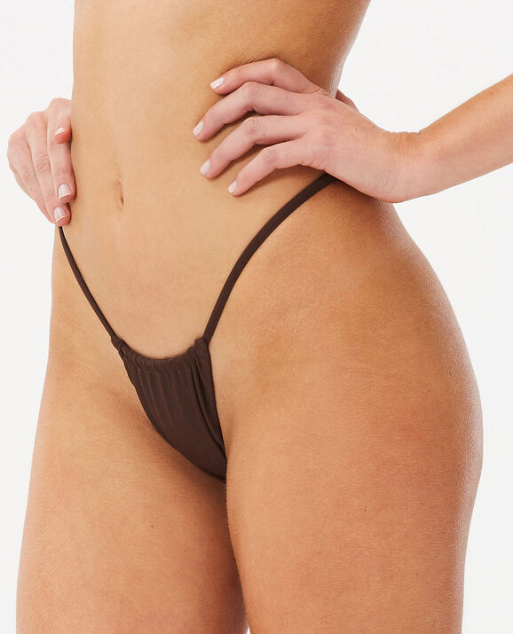 String Mini Cheeky Bottom Decadent Chocolate 1
