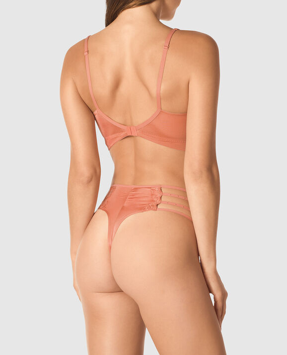 Lightly Lined Balconette Bra Desert Blush 2