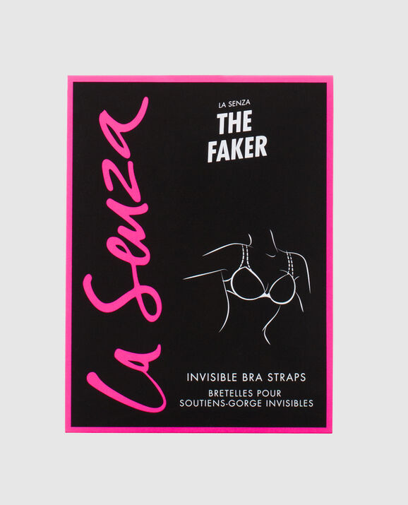 The Faker Invisible Bra Straps Clear 1
