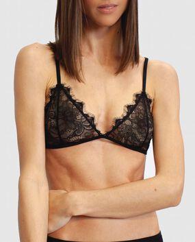 Serendipity Lace Bralette Smoulder Black 1