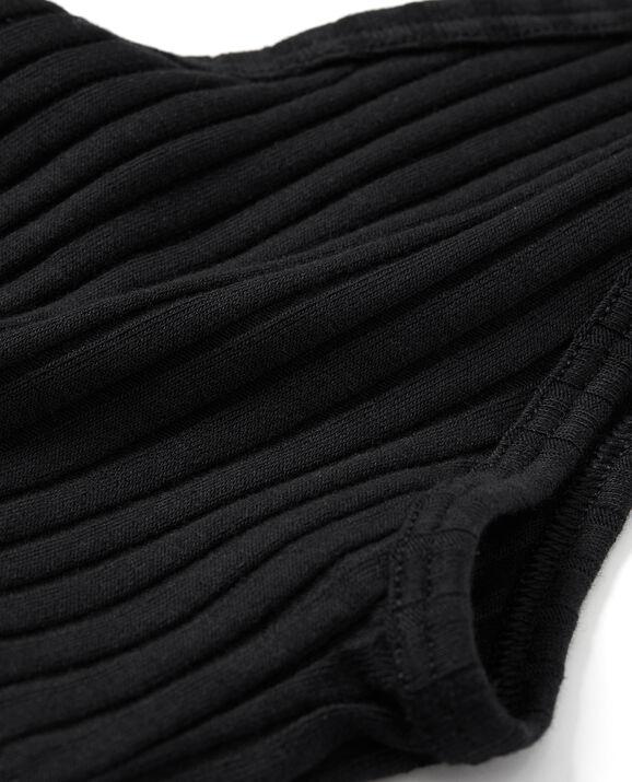 Ribbed Bralette Smoulder Black 2