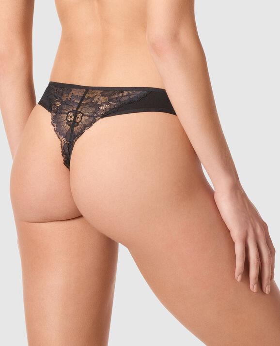 Thong Panty Smoulder Black 2