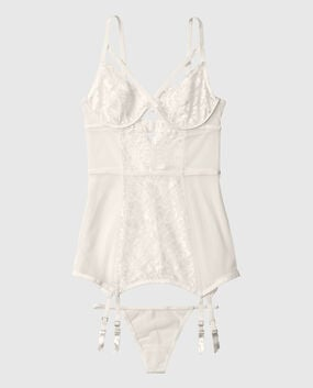 Unlined Lace Merrywidow Ivory 1