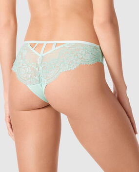 V Front Brazilian Panty Beach Glass 1