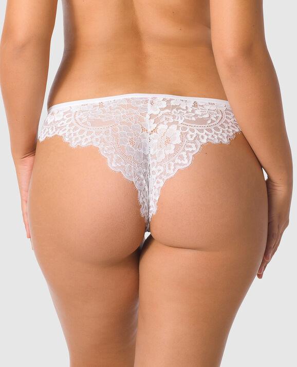 Cheeky Panty White 2