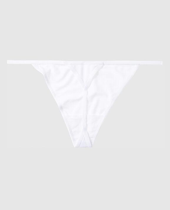 G-String Panty White 2