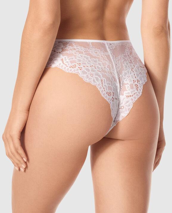 High Waist Cheeky Panty Ivory 2
