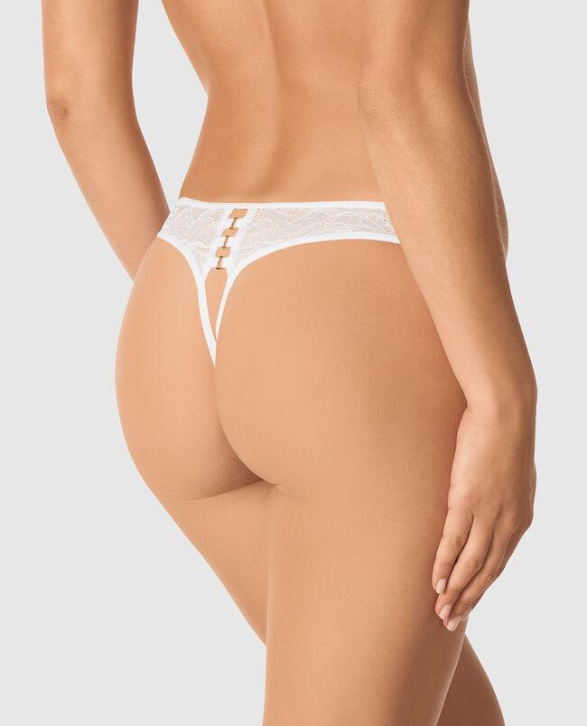 Crotchless Thong Panty