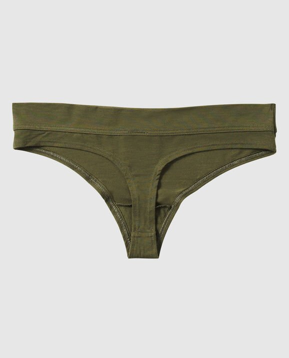 Thong Panty Olive Night 2