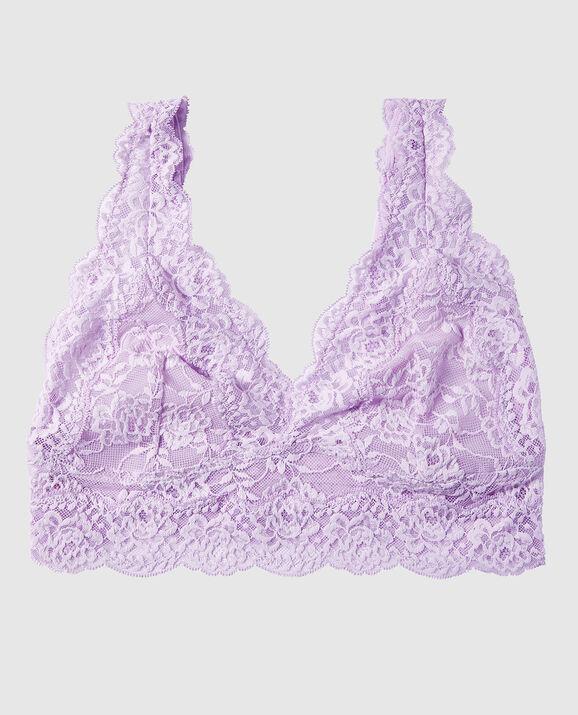 Lace Bralette Misty Lilac 1