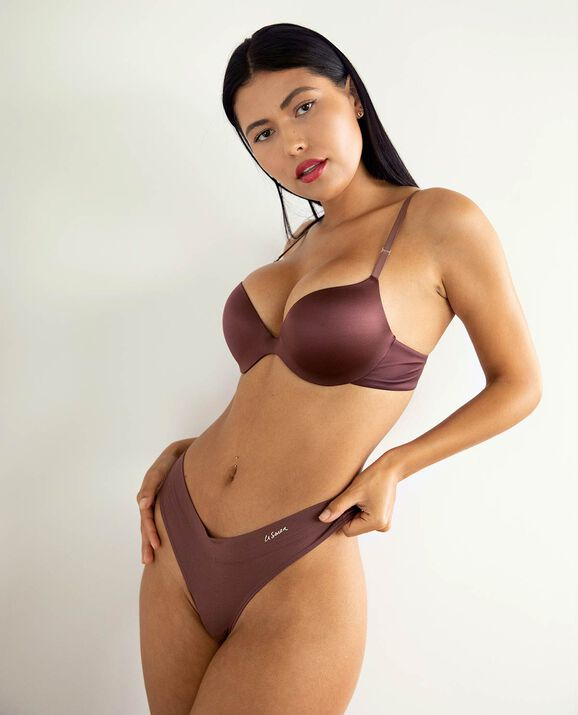 Push Up Bra Dusty Cedar 1