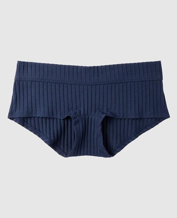 Ribbed Boyshort Panty Prepster 1