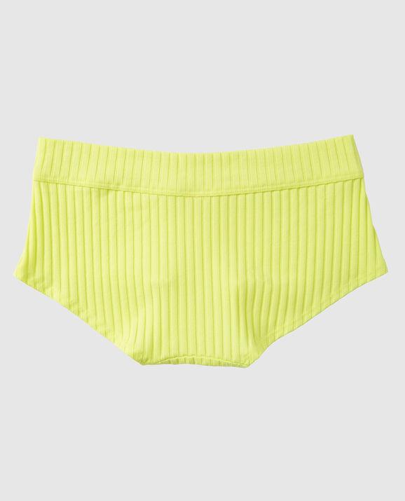 Ribbed Boyshort Panty Electro 2