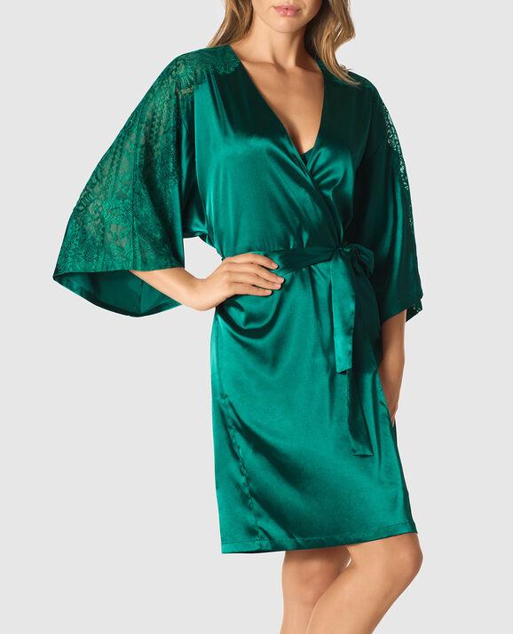 8ee63fa686c Satin Kimono