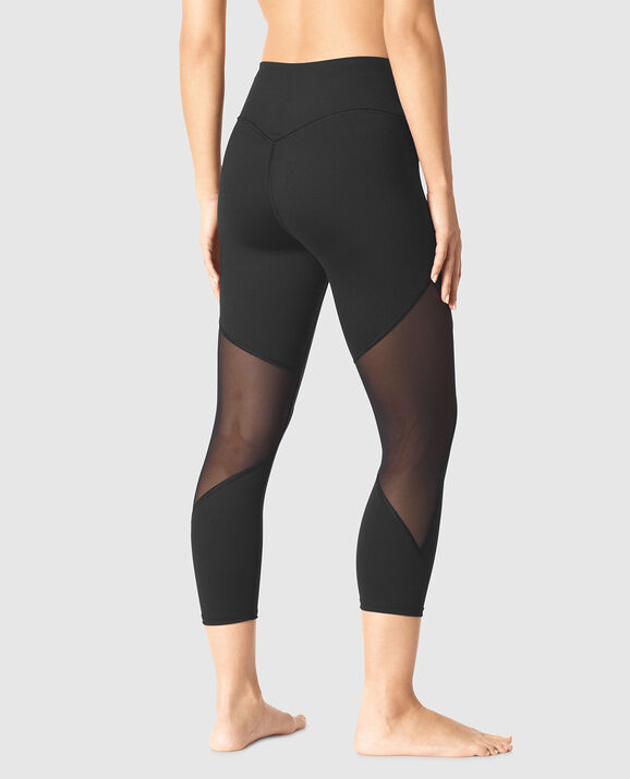 Booty Lift Crop Legging Smoulder Black 2