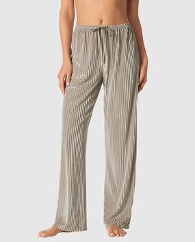 Stripe Velvet Pant
