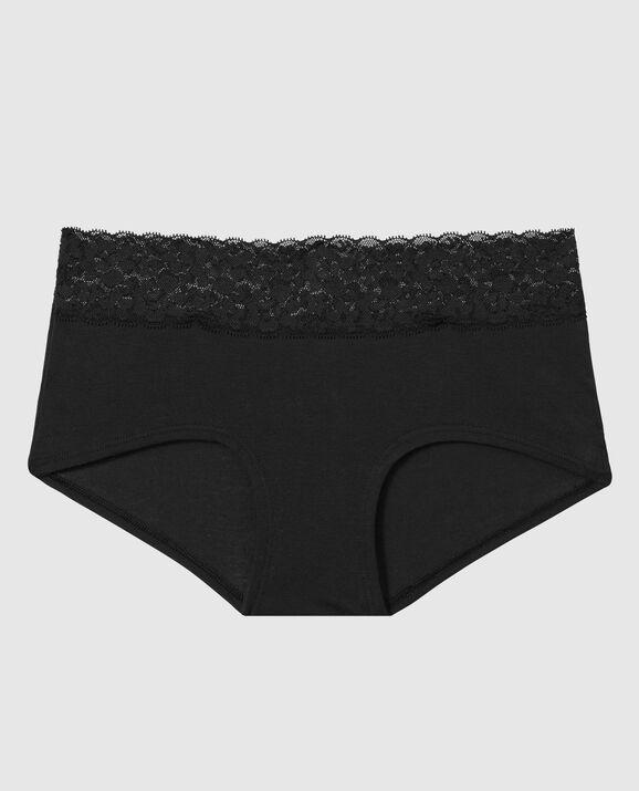 Boyshort Panty Smoulder Black 1