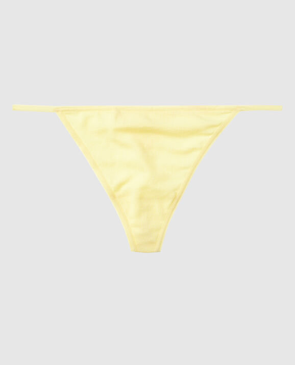 G-String Panty Bright Yellow 1