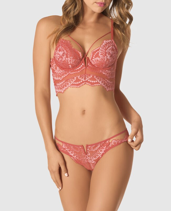 Unlined Lace Bra Top