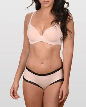 The Fearless Smooth T-Shirt Bra Rose Tan 1