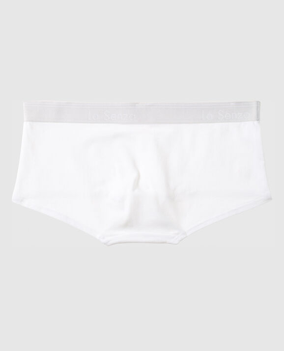 Boyshort Panty White 2