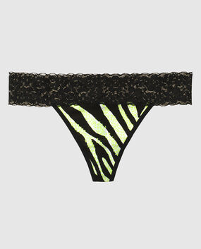 Thong Panty Sapphire Water Color 1