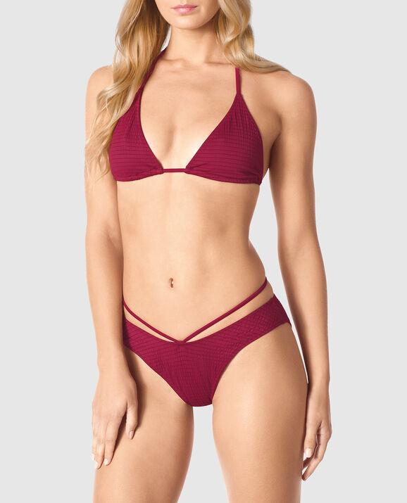Triangle Bikini Top Red Fruit 1