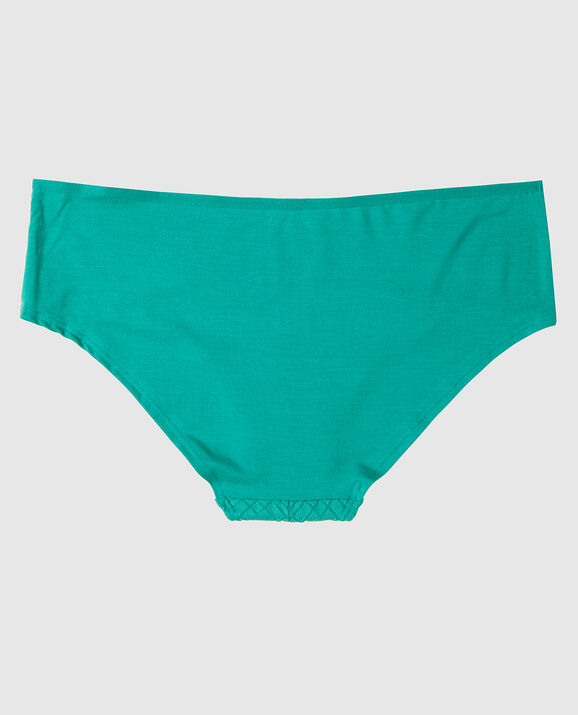 Hipster Panty Teal Geo Chevron 2