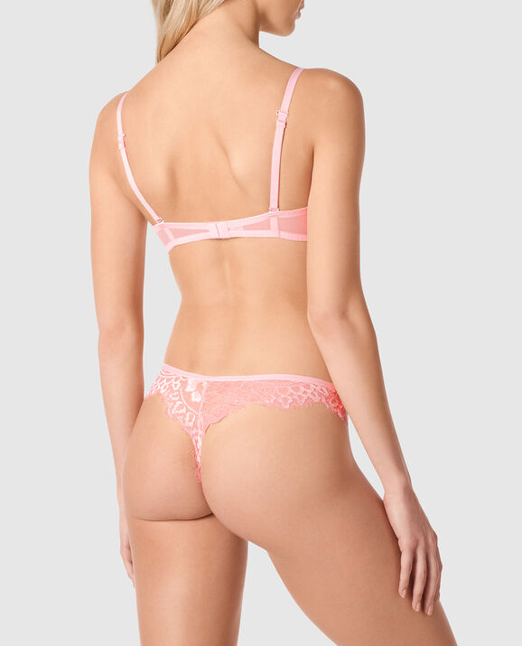 Lightly Lined Demi Bra Cotton Candy 2