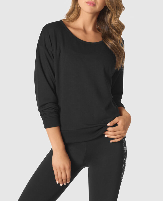 Pullover with Cut-Out Back
