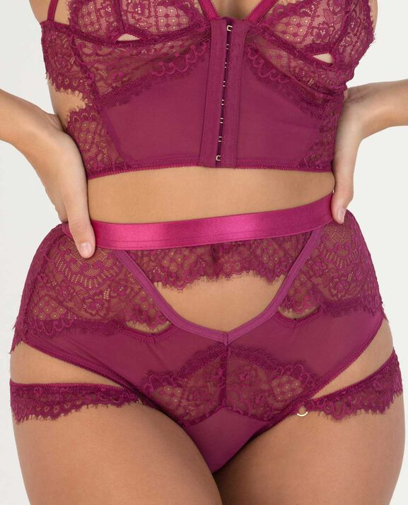 Kyle High Waist Panty Knockout Pink 2