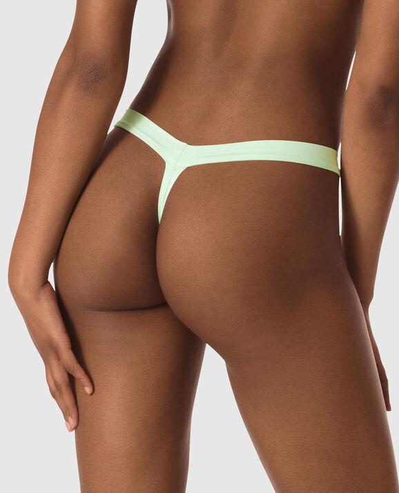 Thong Panty Pale Green 2