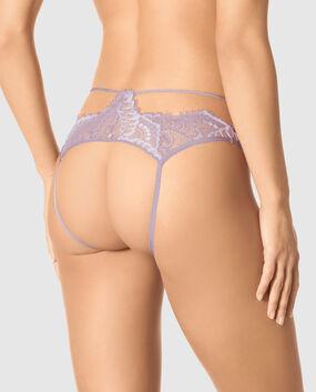 Crotchless Lace Panty