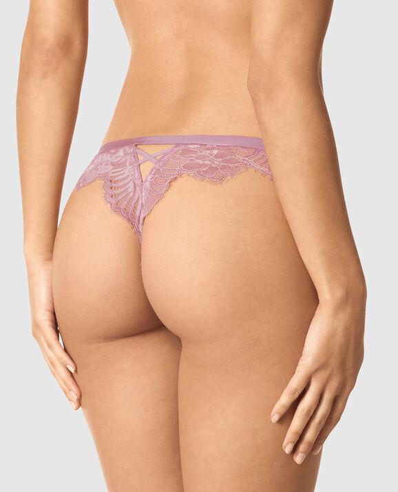 Thong Panty Soft Mauve 2