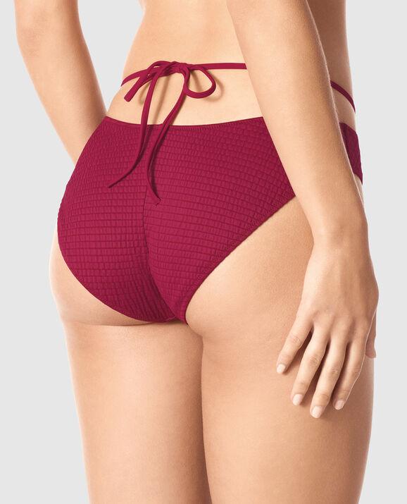 Strappy Bikini Bottom Red Fruit 2