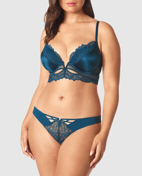 Up 2 Cup Push Up Bra Academy Blue 1