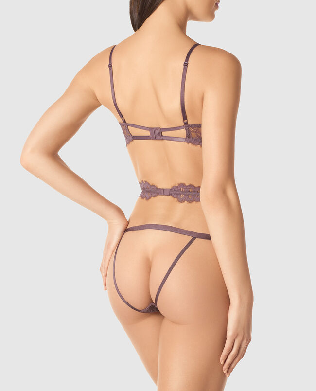 Barely-There Lace Bodysuit