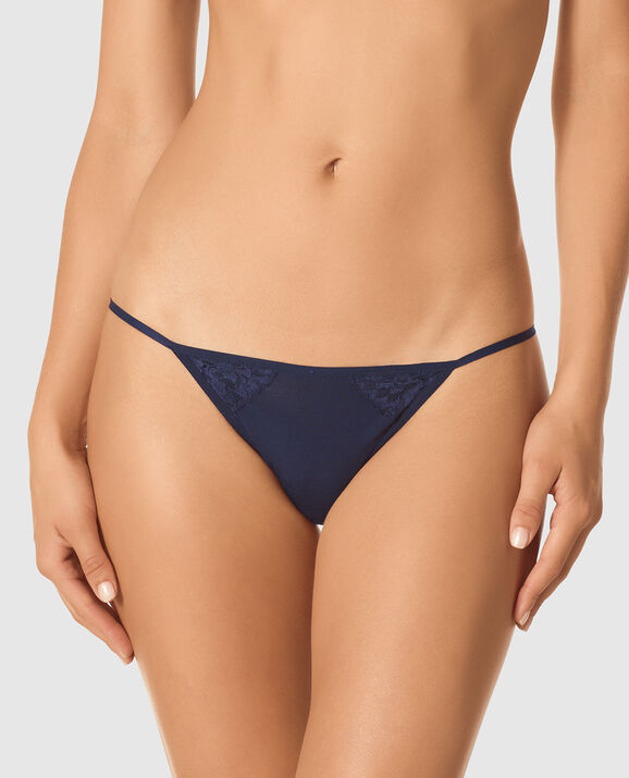 G-String Panty Imperial Blue 1