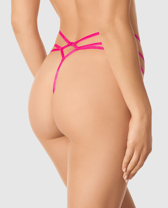Crotchless G-String Panty