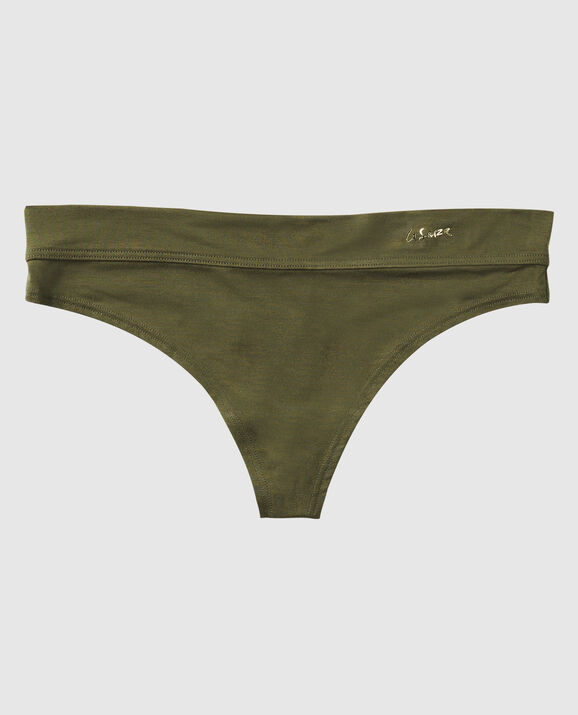 Thong Panty Olive Night 1