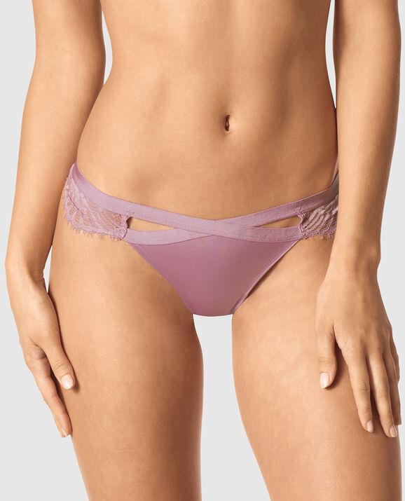 Thong Panty Soft Mauve 1