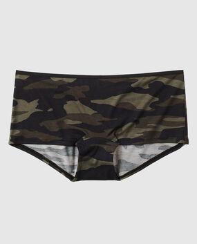 Boyshort Panty Green Camo 1