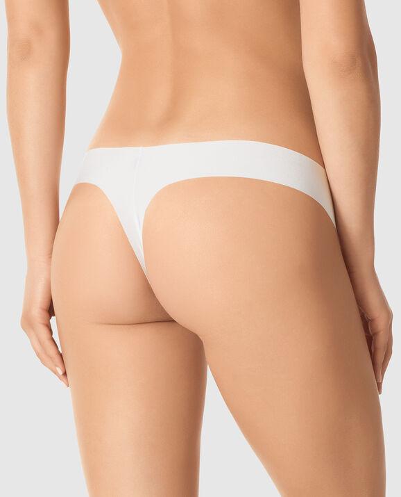 Thong Panty White 1