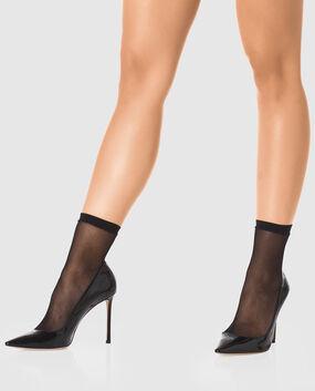 Fishnet Socks Smoulder Black 1